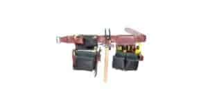 OCCIDENTAL LEATHER GREEN FRAMER TOOL BELT SET